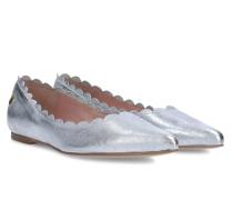 Maple Frilled Ballerina - Silver - 35