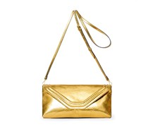 Coral Abendtasche - Golden Glow Metallic/Gold