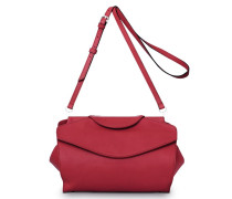 - Oyster Midi Shoulderbag - Royal Red