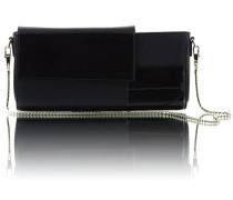 - Daria Tote/Clutch Large - Black Patent