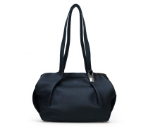 Opal Tote Two- Night Blue Silver