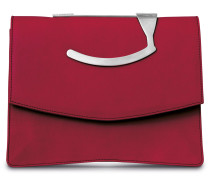 - Oyster Clutch - Royal Red