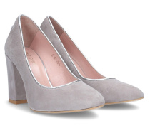 Cassia 90 Piped Pumps - Gray - 36