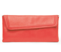Lyra Clutch - Strawberry Red