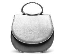 Ebony Mini Loop Bag - Sparkling Silver