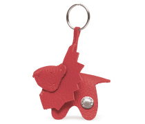 Lion Keyring - Cayenne Red Metallic