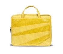 Linear Laptoptasche - Lemon Yellow