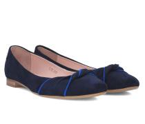 Cassia Bow Ballerina - Blue - 35