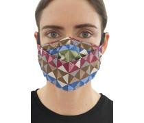 Mund-Nasen-Maske mit Filtertasche Geometry