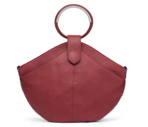 Maple Metal Tote - Royal Red