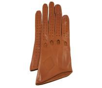 Long Car Gloves GL8 - Cognac