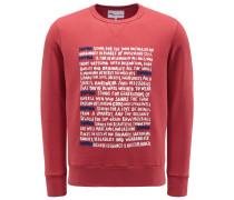 Sweatshirt mit Rundhals 'Aacaste' hellrot