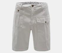 Shorts 'Lorenzo' hellgrau