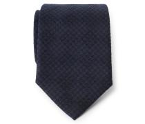 Krawatte schwarz/navy gemustert