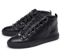 High Top Sneaker 'Arena' schwarz