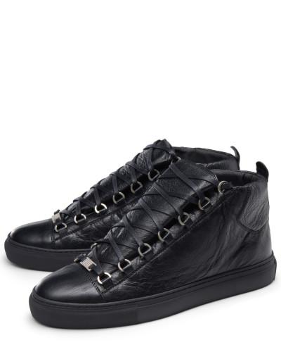 High Top Sneaker 'Arena' schwarz