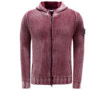 Strickjacke bordeaux
