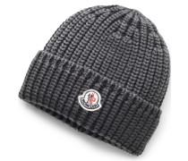 Moncler - Mütze dunkelgrau