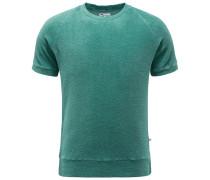 Frottee-Sweatshirt 'Aagamennone' mintgrün