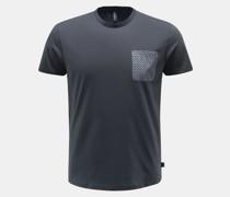 HerrenRundhals-T-Shirt navy