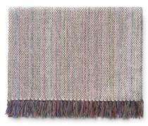 Schal offwhite/multicolor gemustert