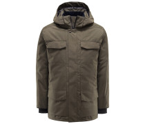 Daunenparka 'Windermere Black Label' oliv