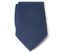 Krawatte dunkelblau gemustert