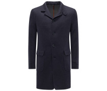 Cashmere Mantel 'Sweater Coat' navy