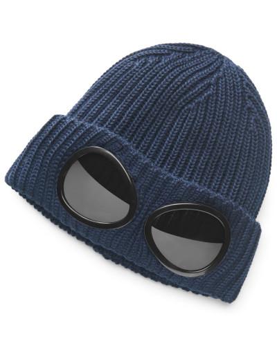 Merino Mütze navy