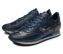 Sneaker 'Etoile' navy gemustert