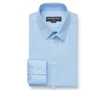 Business Hemd schmaler Kragen hellblau