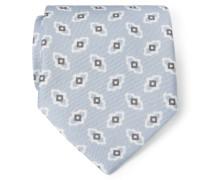 Krawatte hellgrau gemustert
