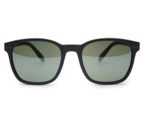 Sonnenbrille 'Sun Nautic' schwarz/grün
