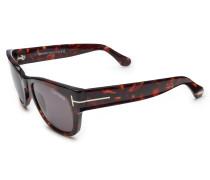 Sonnenbrille 'Cary' dunkelbraun/dunkelgrau