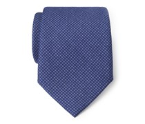 Ermenegildo Zegna - Krawatte dunkelblau gemustert