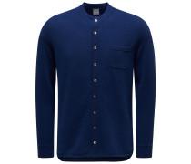 Cashmere Overshirt dunkelblau