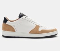 HerrenSneaker 'ZSP23 Nappa' weiß/beige/dark navy