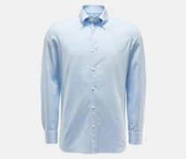 HerrenCasual Hemd 'Gable' Button-Down-Kragen hellblau