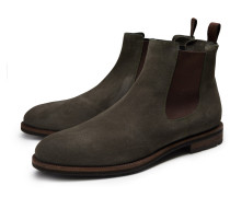 Santoni - Chelsea Boot dunkelgrün