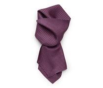 Krawattenschal rot gemustert