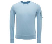 R-Neck Sweatshirt hellblau