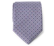 Krawatte violett gemustert