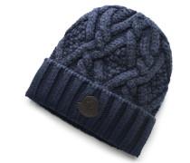 Wollmütze graublau