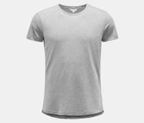 HerrenRundhals-T-Shirt 'OB-T' grau