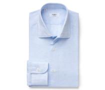 Business Hemd Kent-Kragen pastellblau