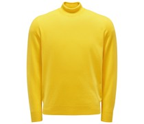 HerrenCashmere Rollkragenpullover gelb