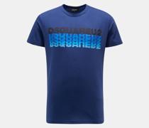 HerrenRundhals-T-Shirt dunkelblau
