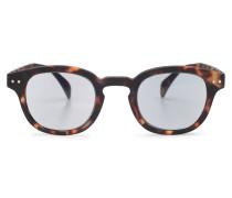 Sonnenbrille '#C Sun' dunkelbraun/grau