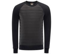 R-Neck Sweatshirt 'Cybernetic' schwarz