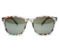 Sonnenbrille 'Sun Nautic' blau gemustert/grün